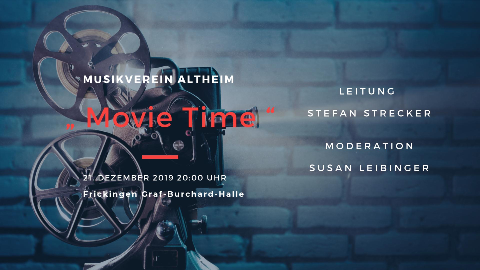 Poster zum Festlichen Konzert 2019